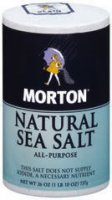 Morton Salt Natural Sea 26oz