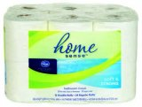 Store Brand Bath Tissue Home Sense Double Rolls 12ct