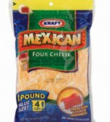 Kraft Cheese Shredded Mexican Four Cheese 16oz